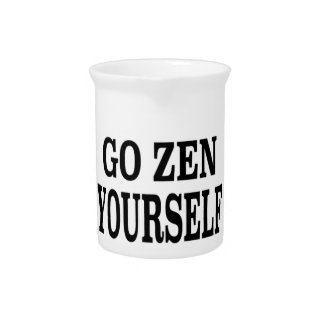 Go Zen Yourself (black breath edition) Pitchers