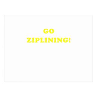 Go Ziplining Postcard