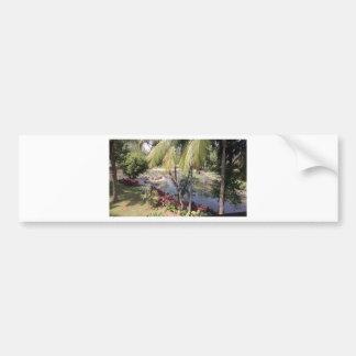 Goa India Garden Bumper Sticker