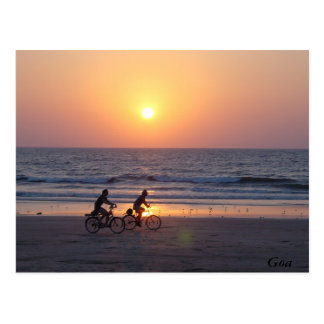 Goa, la India Postales