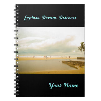 Goa Seaside picture Notebook