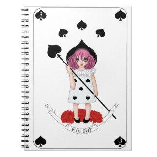 Goads doll notebook