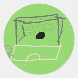 Goal Classic Round Sticker