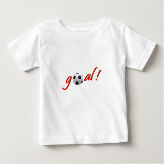GOAL ! Crazy for Soccer Baby T-Shirt