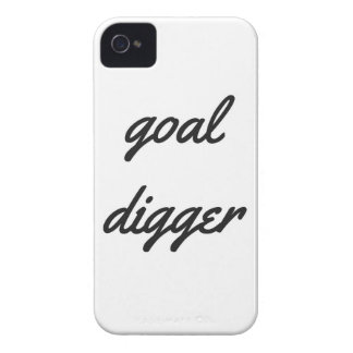 Goal Digger Humor Design Collection Illustration iPhone 4 Case-Mate Case