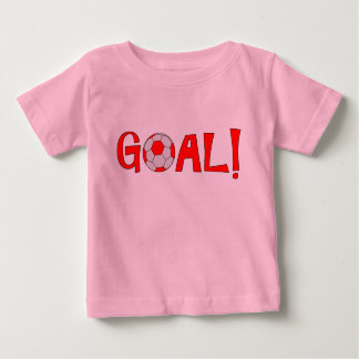 Goal - Football Soccer Baby Clothes Baby T-Shirt