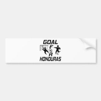 Goal For Honduras Car Bumper Sticker