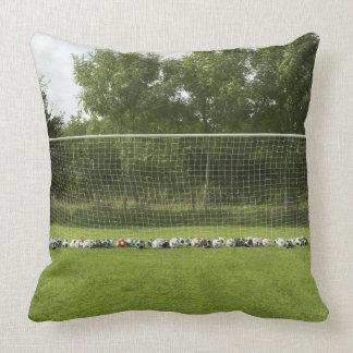 Goal Full of Balls Throw Pillow