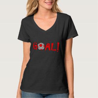 Goal - Funny Football Soccer T Shirts for Women