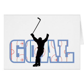 Goal - Ice Hockey Score - Sports Gifts Card