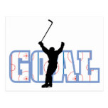 Goal - Ice Hockey Score - Sports Gifts Postcard