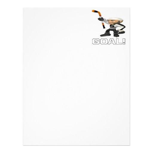 Goal Personalized Letterhead