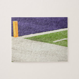 Goal Line Marker Jigsaw Puzzle