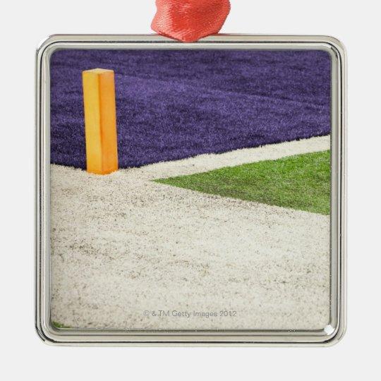 Goal Line Marker Metal Ornament