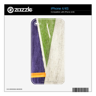 Goal Line Marker Skin For iPhone 4