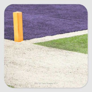Goal Line Marker Square Sticker