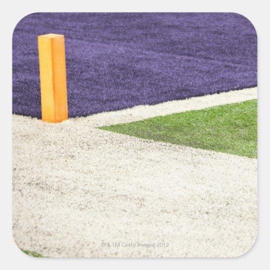 Goal Line Marker Square Sticker