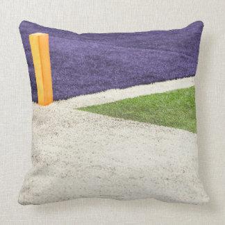 Goal Line Marker Throw Pillow