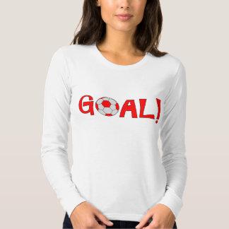 Goal - Long Sleeve Soccer T Shirts for Women
