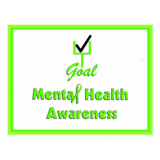 GOAL Mental Health Awareness Postcards