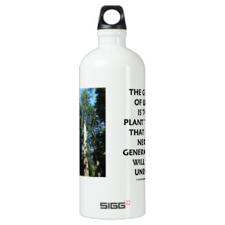 Goal Of Life Is To Plant Trees Next Generation Sit SIGG Traveler 1.0L Water Bottle