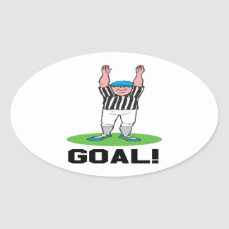 Goal Oval Sticker