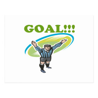 Goal Postcard