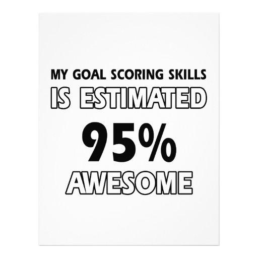 goal scoring designs letterhead template