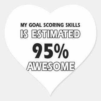 goal scoring designs sticker
