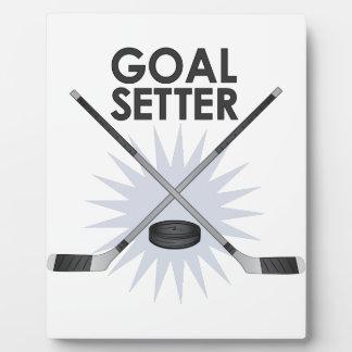 Goal Setter Plaque