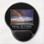 Goal Setting Custom Mousepad Gel Mouse Pad