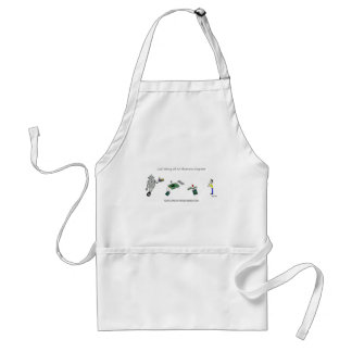 Goal Setting of An Electronics Engineer Adult Apron