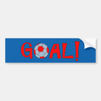 GOAL - Soccer bumper Sticker