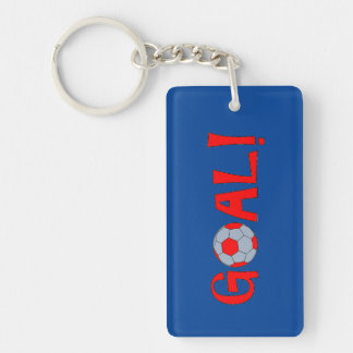 GOAL - Soccer Party Favors - Keychain