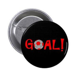 Goal - Soccer Pin Buttons