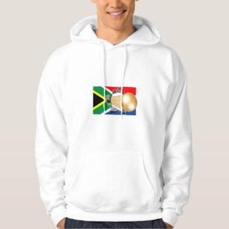 Goal - South African rocket match winning goal Hooded Pullovers