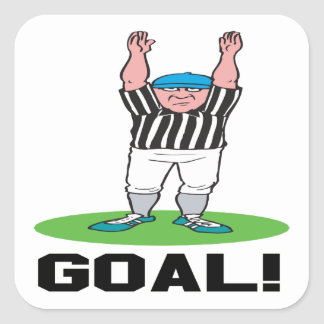 Goal Square Sticker