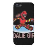 Goalie Girl iPhone 5 Cases