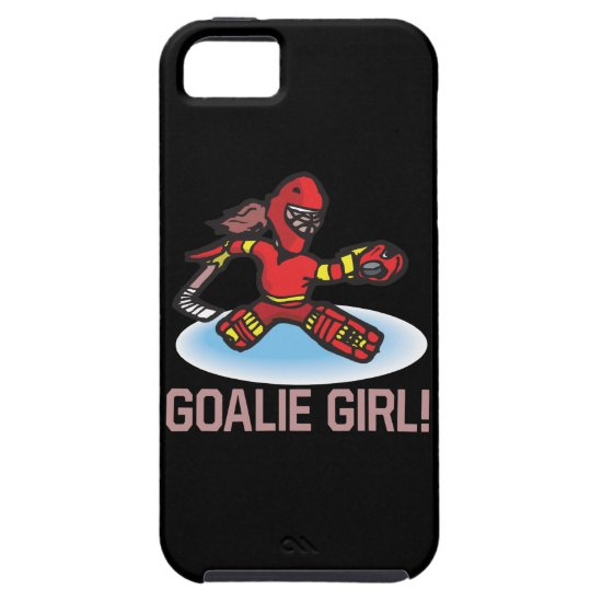 Goalie Girl iPhone SE/5/5s Case