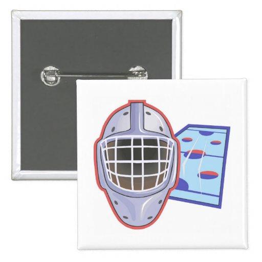 Goalie Mask Pins