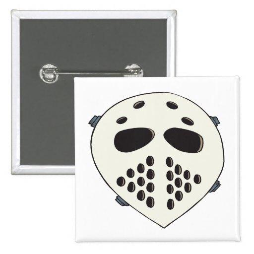 Goalie Mask Buttons