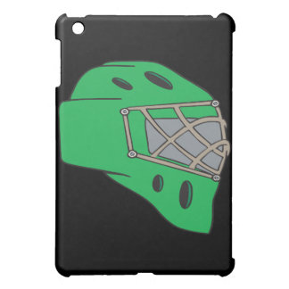Goalie Mask Green iPad Mini Cover