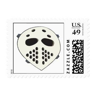 Goalie Mask Stamp