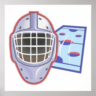 Goalie Mask Poster