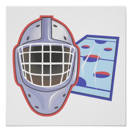 Goalie Mask Posters