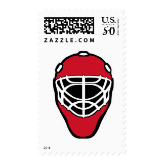 Goalie mask stamp