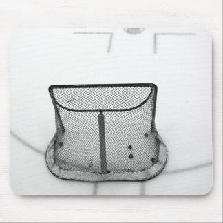 Goalie net mousepad (B&W)