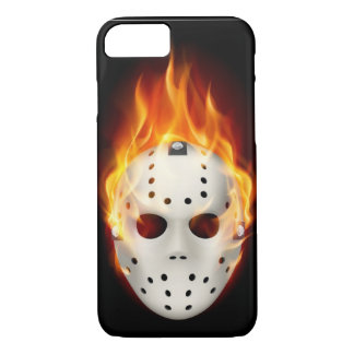 GOALIE ON FIRE iPhone 7 CASE