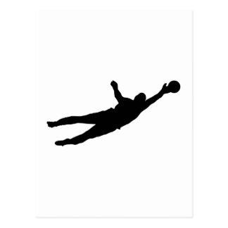 Goalie Save Postcard