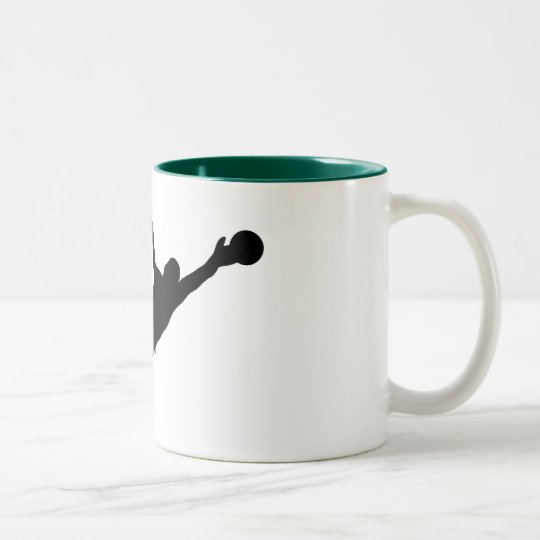 Goalie Save Two-Tone Coffee Mug